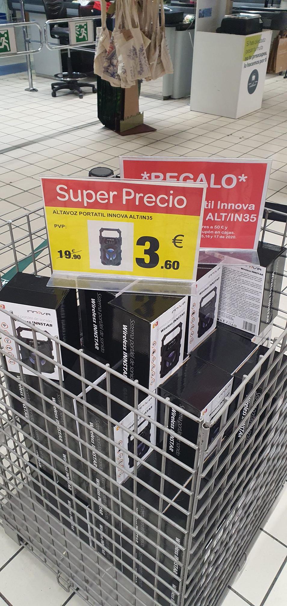 Altavoz portatil innova alt/ IN35