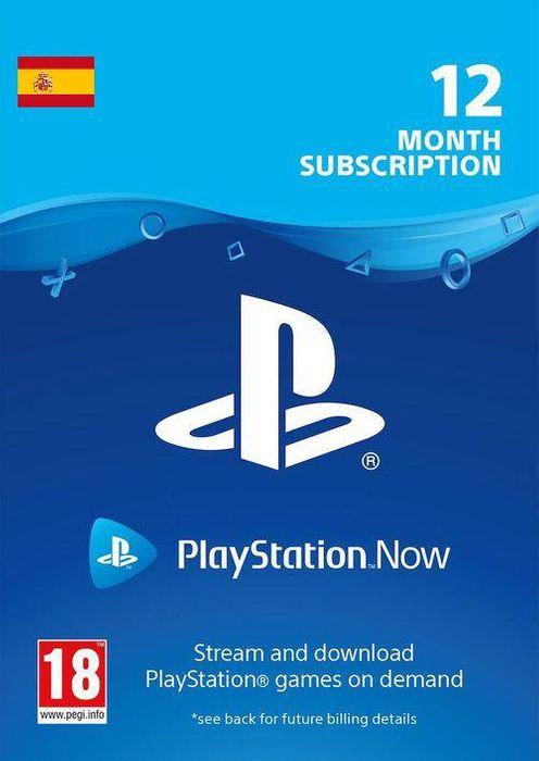 Suscripción De 12 Meses A Playstation Now
