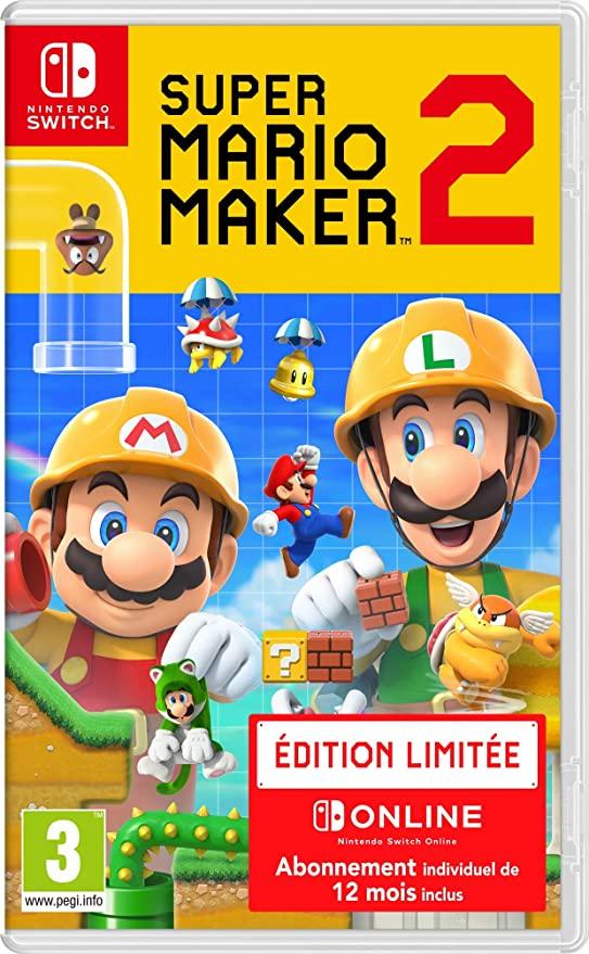 Super Mario Maker 2 + 12 meses Online por 47,36€