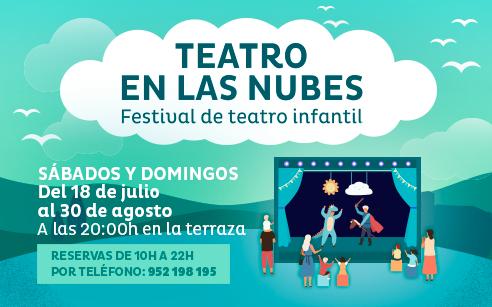Festival de teatro infantil gratis CC Miramar de Fuengirola