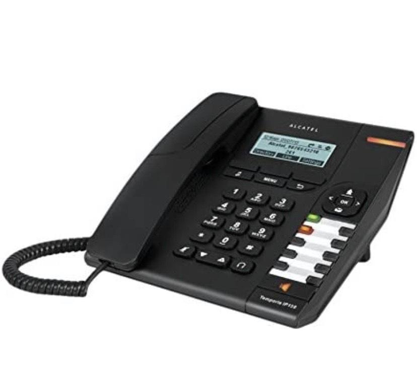 Alcatel Temporis IP150 - Teléfono IP (Negro, Terminal con conexión por Cable,