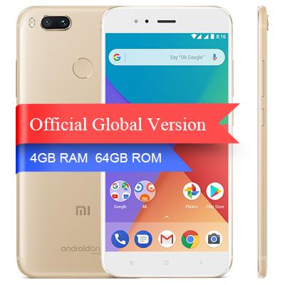 Xiaomi Mi A1 Version 4/64 Gb Color Oro en Aliexpress con cargador EU