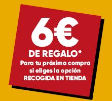 6€ de Descuento en Fnac al recoger gratis en tienda tu pedido on-line