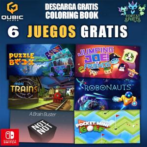 Gratis :: 7 Juegos para Nintendo Switch @QUBIC