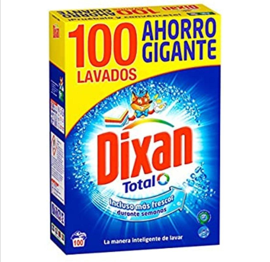 Dixan Detergente Polvo Total - 100 Lavados (5.30 kg ) (compra recurrente)