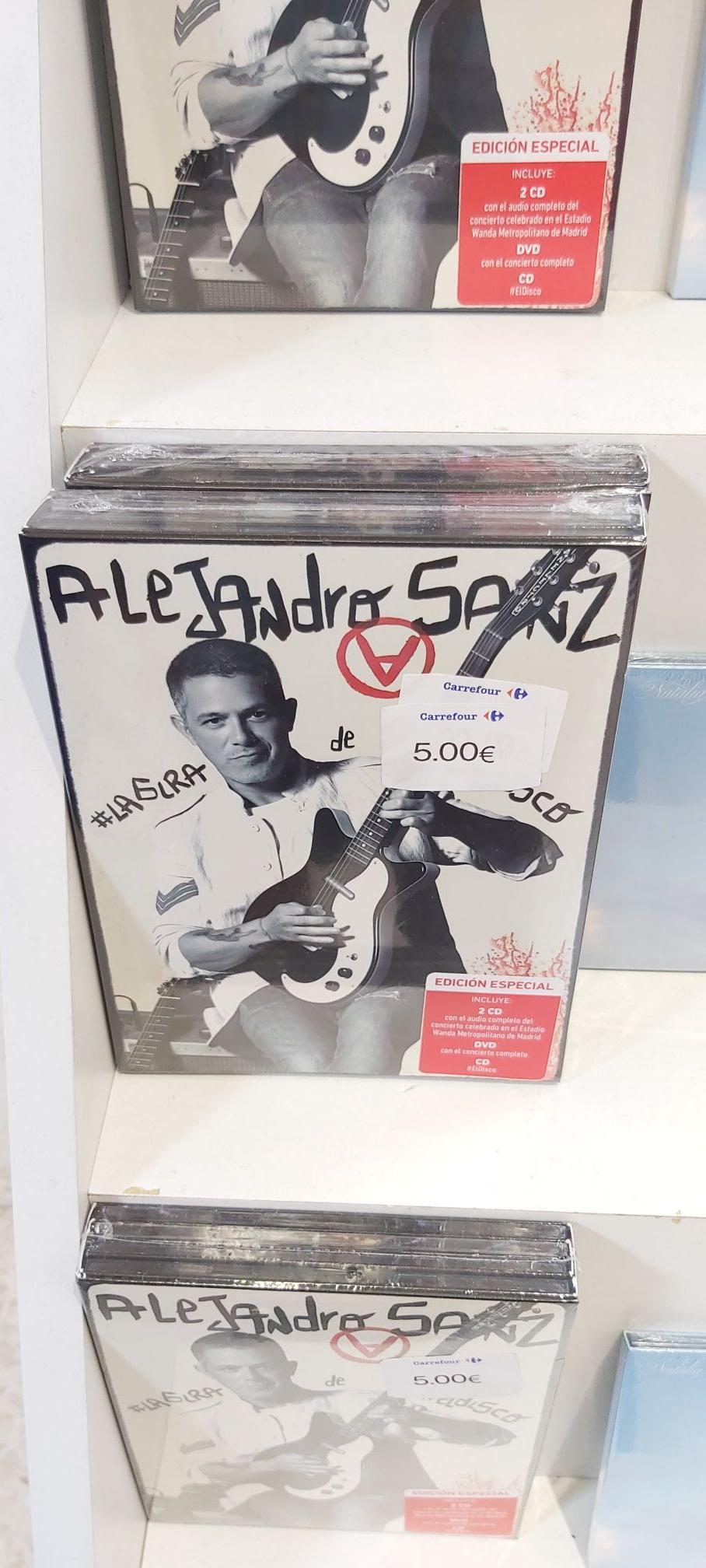 Alejandro Sanz, #la gira del disco Edición Especial (3 CDs y DVD) (Carrefour Almería)