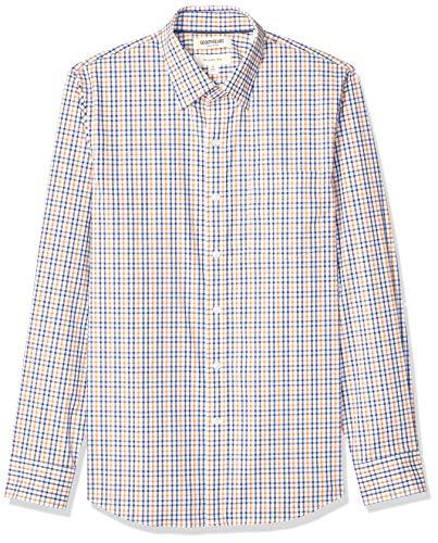 Marca Amazon - Goodthreads - Camisa cómoda de popelín elástico