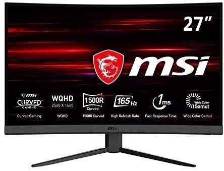"MSI Optix G27CQ4 - Monitor Gaming Curvo 27"" WQHD 165Hz"