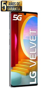 Con el LG VELVET 5G + LG Smart TV por 15€ al mes + Tarifa go Flexible con 100GB por 12,48€