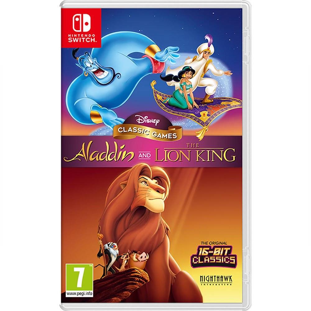 Juego Disney aladdin y rey leon Nintendo Switch