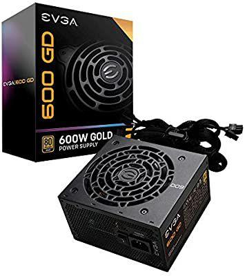 Evga 600 GD fuente de alimentación 80+ Gold 5 años de garantía