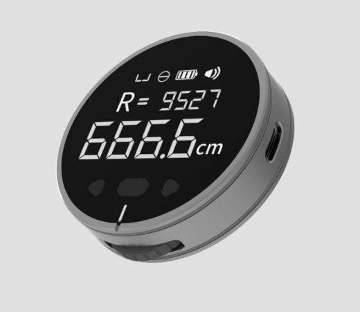 Duka Small Q Ruler, metro electrónico digital para todo tipo de superficies por sólo 10,97€.