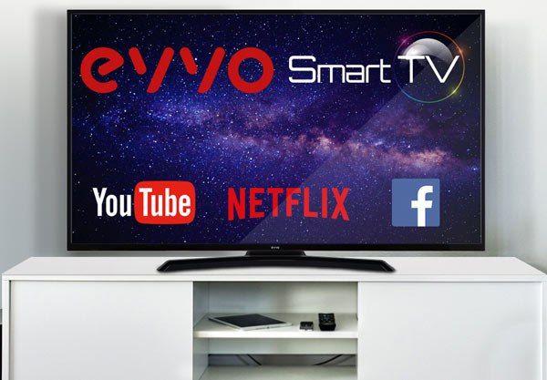"""TV Evvo 43"""" 4K HDR Smart TV"""