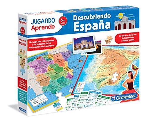 Clementoni - Jugando aprendo, descubre España (55119.4)