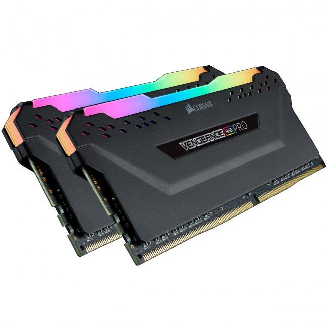Corsair Vengeance RGB Pro Negro DDR4 3200MHz 32GB 2x16GB CL16