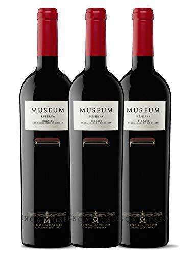 3 botellas Museum Reserva Tinto Cigales
