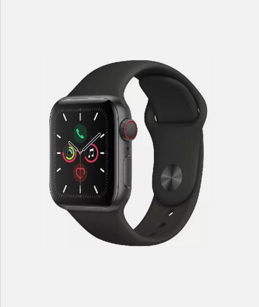 Apple Watch Series 5, Chip W3, 40 mm, GPS + Cellular