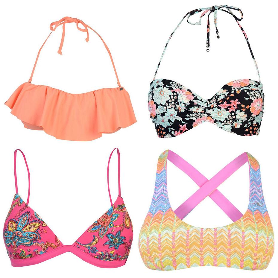 Bikinis y más prendas O'neill con 80% descuento