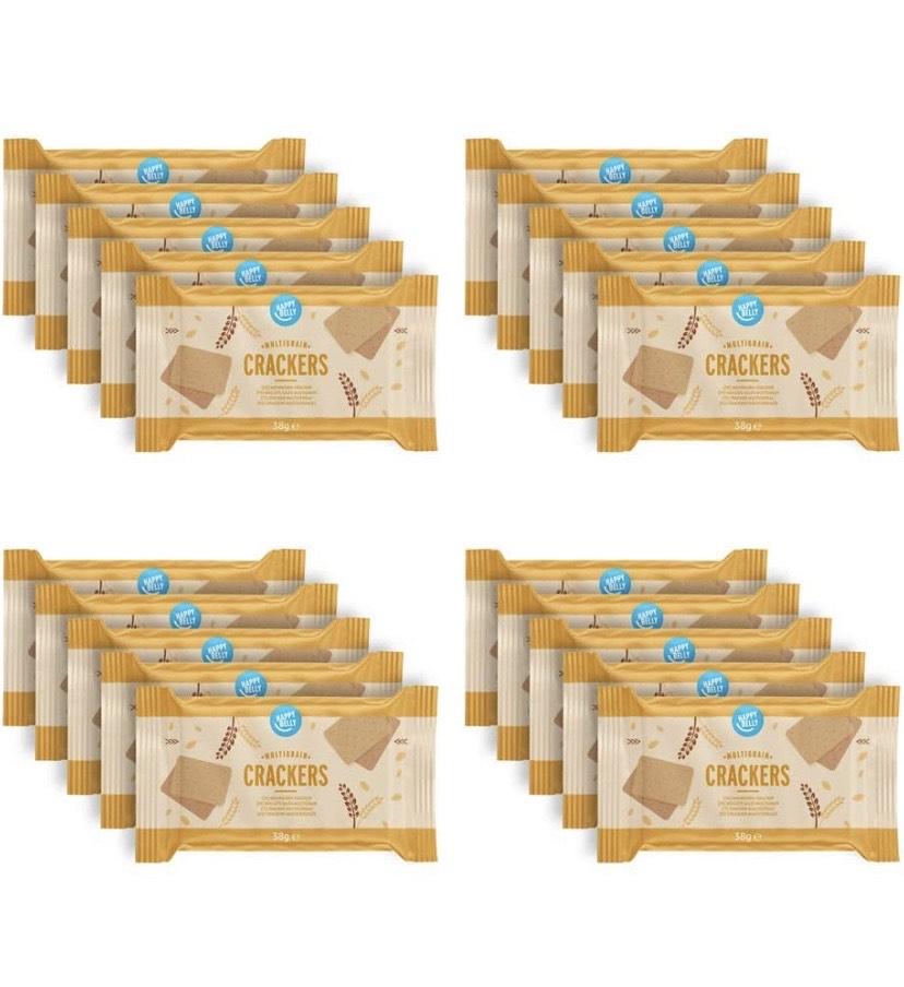 Compra recurrente Happy Belly – Galletas de espelta con 5 cereales, 4 x 190 g
