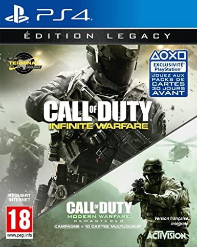 Call of Duty Infinite Warfare Legacy Edition para PS4
