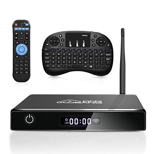 TV Box 2gb RAM, 16gb ROM, 4K, 3D, WiFi Bluetooth con teclado incluido.