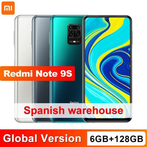 Redmi Note 9S 6/128 desde España por 163,3€