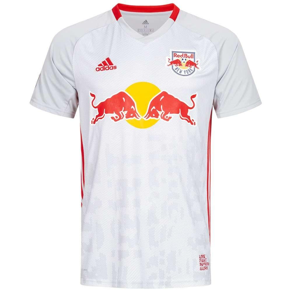 Camiseta Adidas New York Red Bull (Whitecaps de Vancouver y Los Angeles Galaxy por 24,99€)
