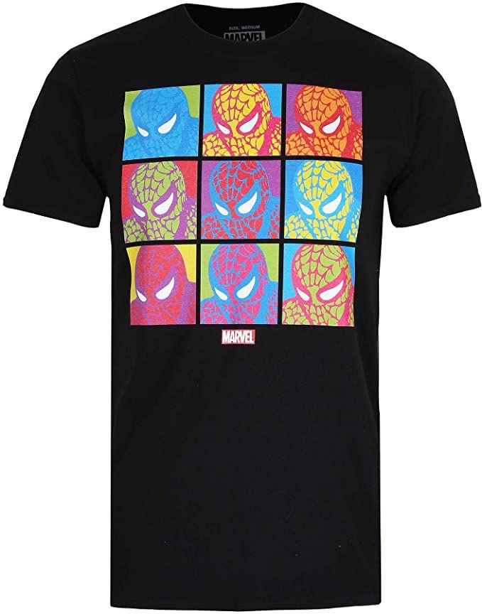 Marvel Pop Art Spider-man camiseta talla M