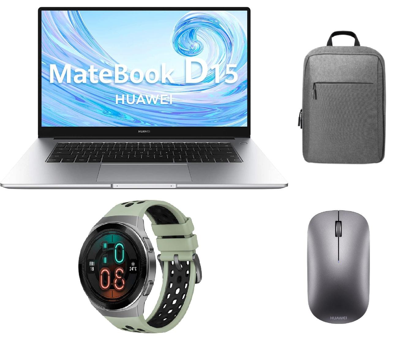 Matebook D15 Ryzen +Watch GT2e + regalos 530€
