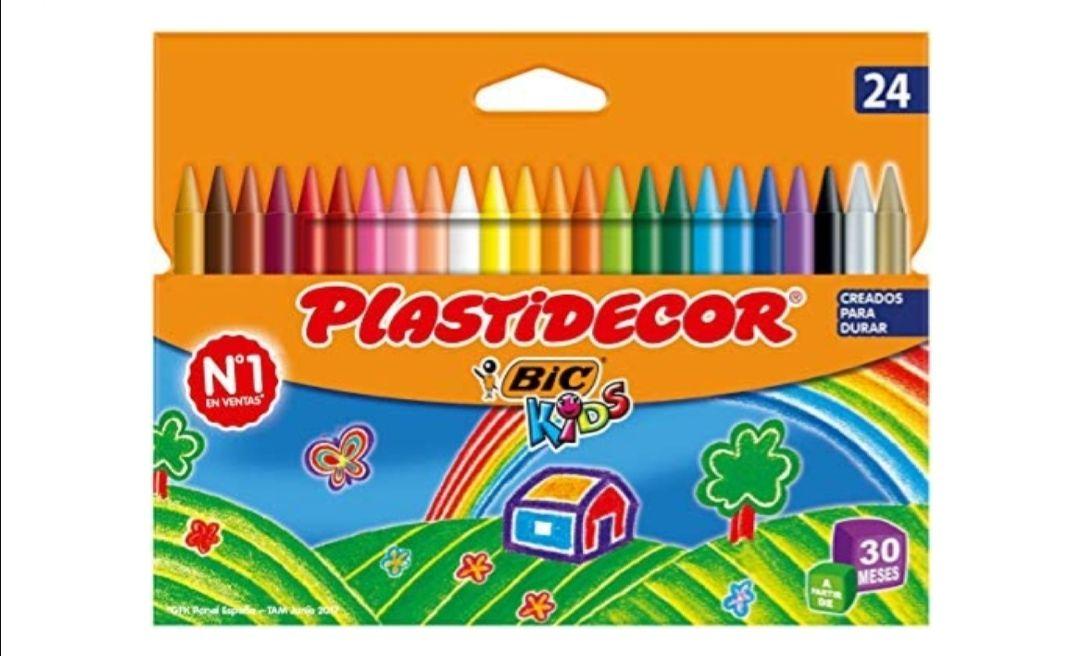 BIC Kids Plastidecor- Blíster de 24 unidades
