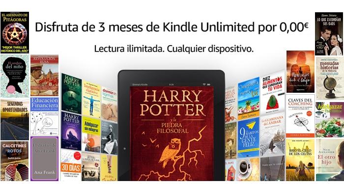 3 meses de Amazon Kindle Unlimited GRATIS