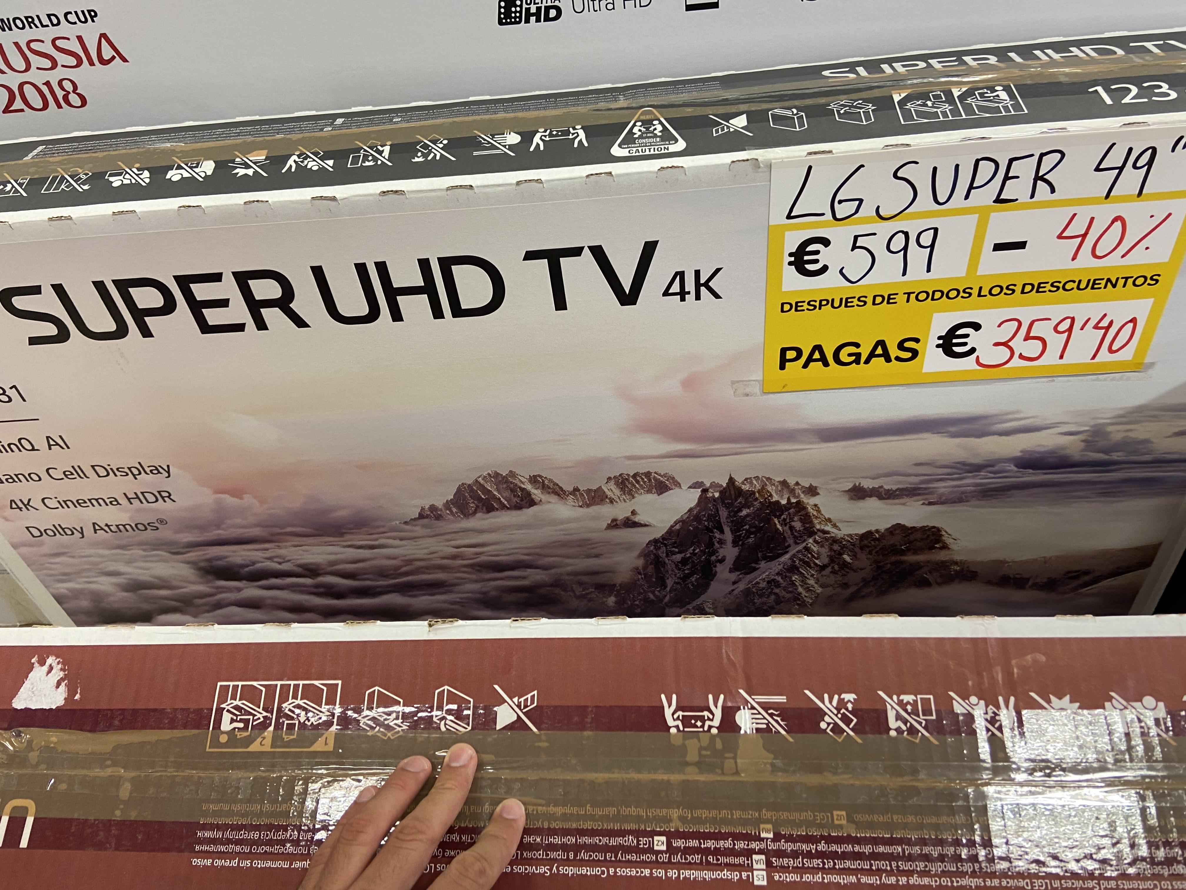 Televisor LG Súper Uhd 4K 49SK81