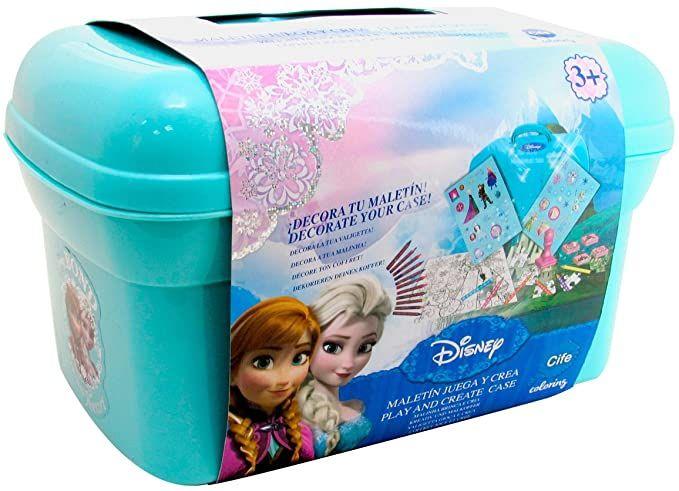 Disney Frozen - Maletín Juega y CREA