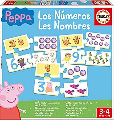 Juegos Pepa Pig marca Educa, precio al tramitar