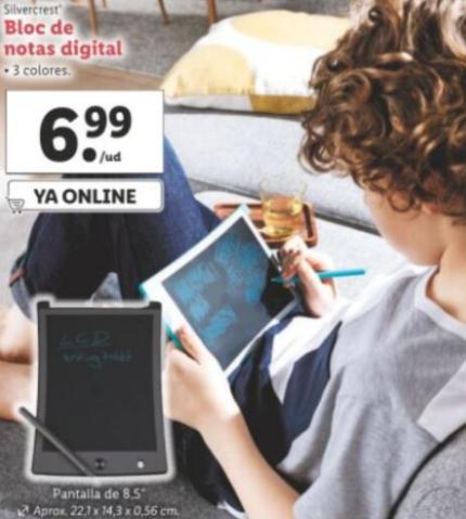 "Pizarra-tableta digital 8,5"" - LIDL"