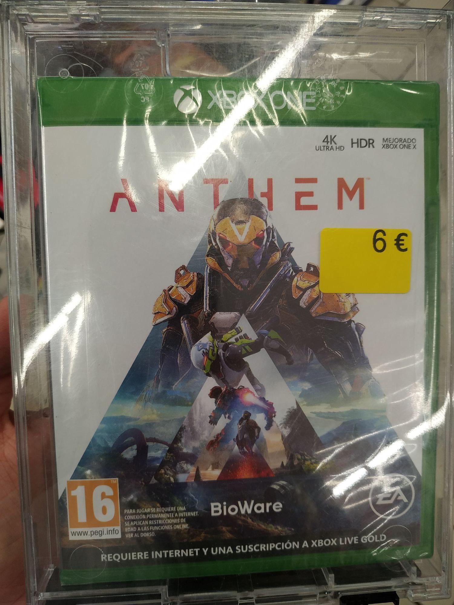 Anthem - Xbox One - Carrefour Madrid Sur