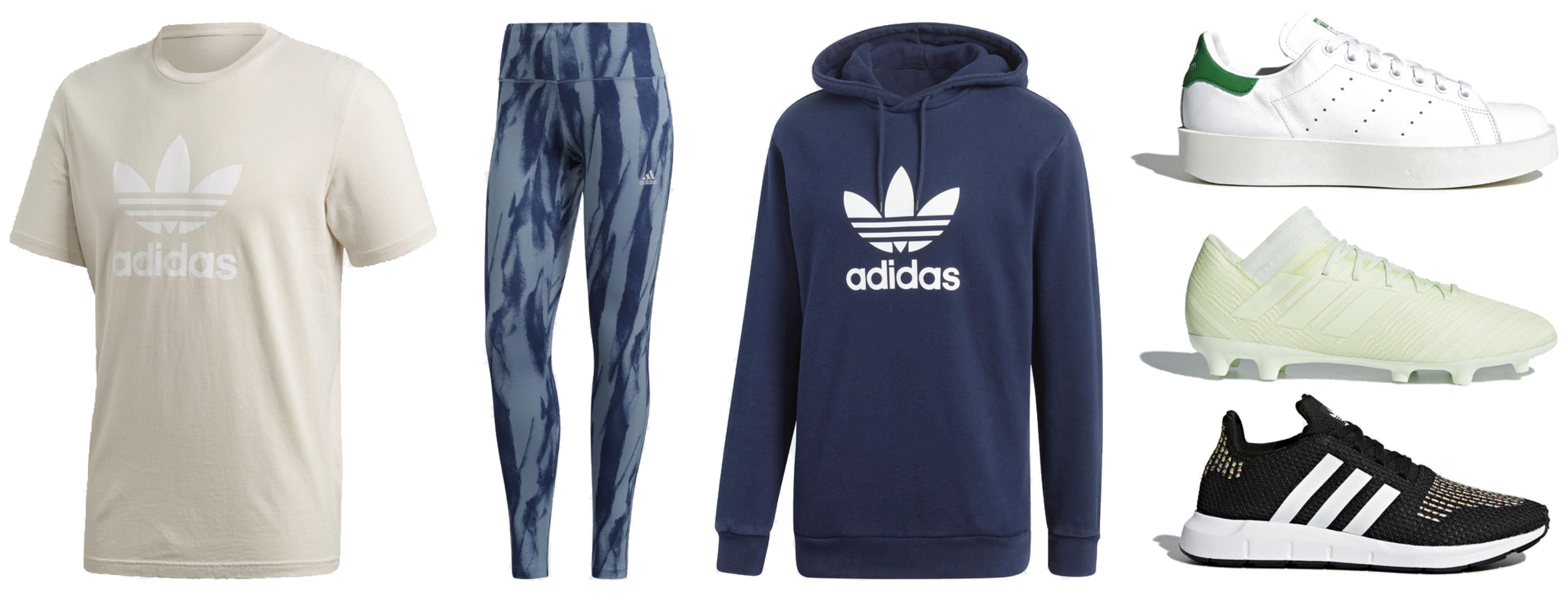 Día V: 50%+20% EXTRA en 24 productos Adidas