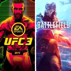 Lote BATTLEFIELD V y EA SPORTS™ UFC® 3 para Playstation 4