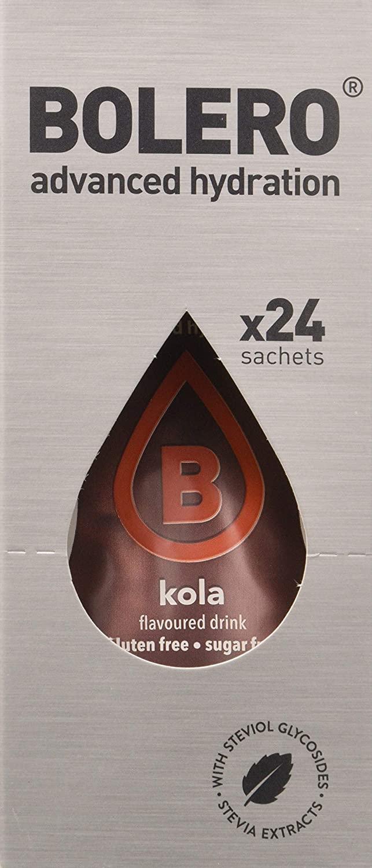 Bebida instantánea sin azúcar sabor kola 24 x 9g