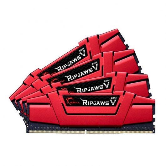 Memoria ram G.Skill Ripjaws V Red DDR4 2133 PC4-17000 32GB 4x8GB CL15