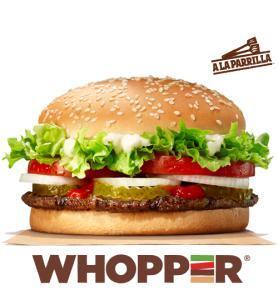 ¡Vuelve! Whopper a 1,99€