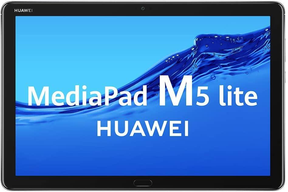 Huawei Mediapad m5 lite + Flip cover y Lápiz