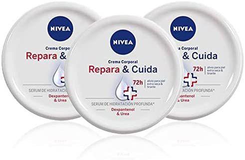 Nivea. Repara y Cuida Crema Corporal. Pack 3X300ml