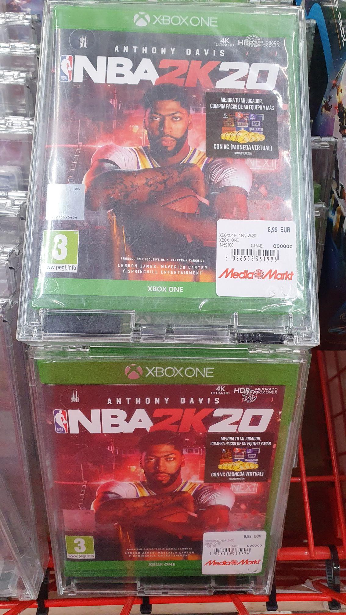 Nba 2k20 - Xbox One (Físico) Mediamarkt