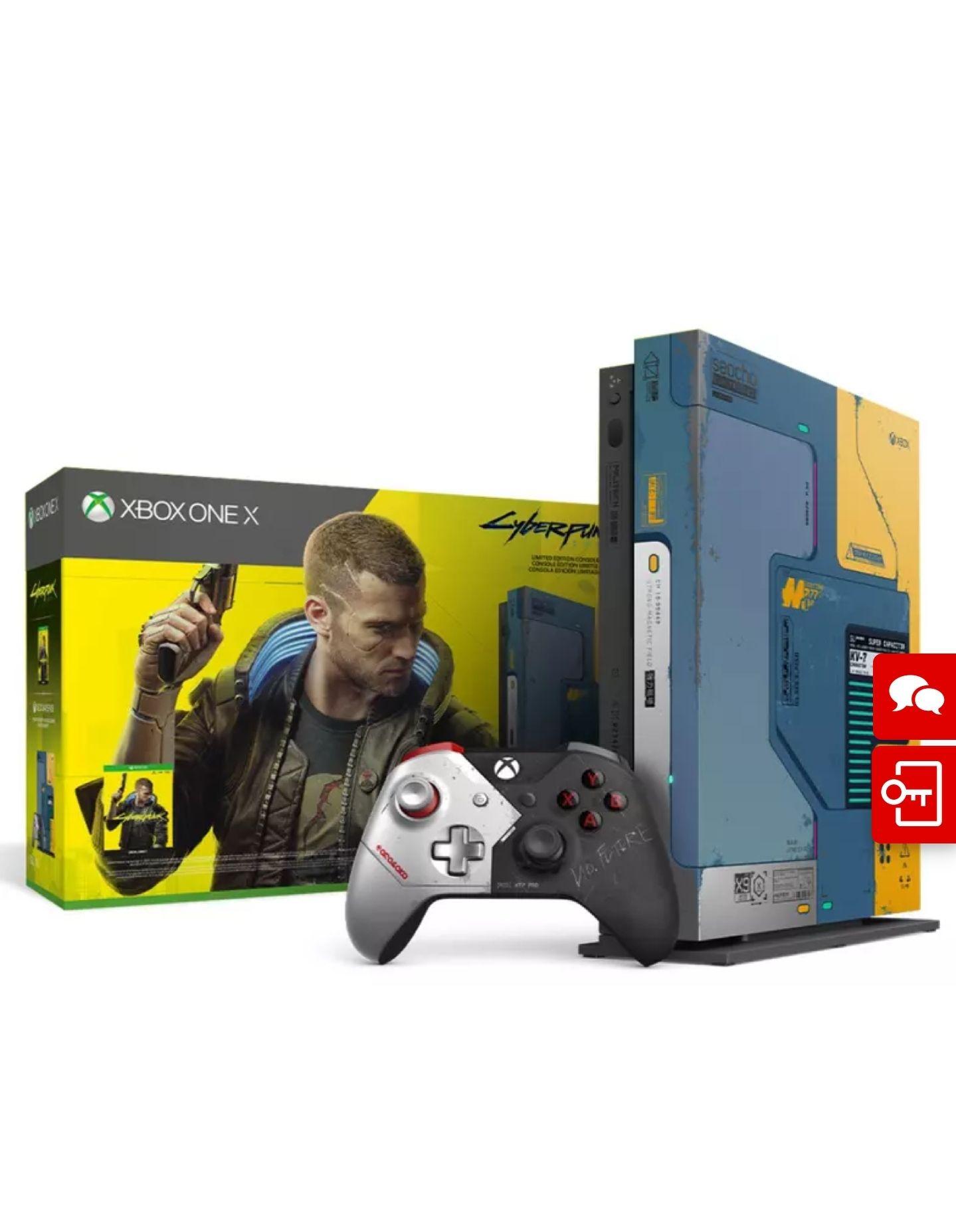 Xbox One X 1TB Cyberpunk 2077 (Ed. Limitada) Reacondicionada