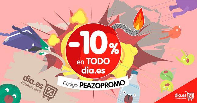 10% descuento ONLINE en dia.es