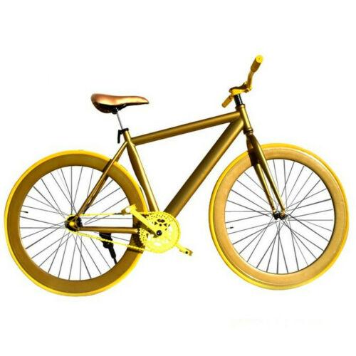 Bicicleta fixie (blanco y plata )