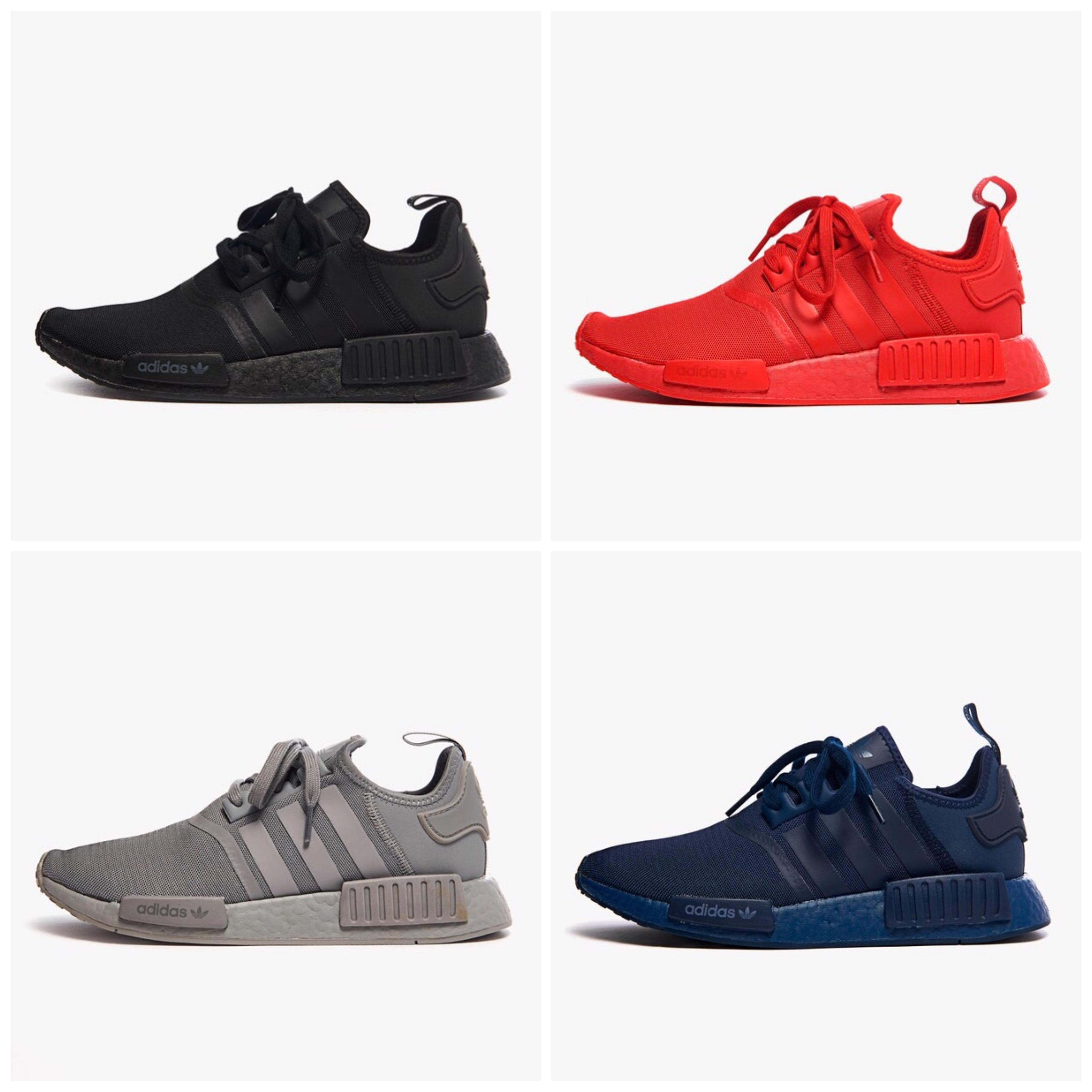 Adidas NMD R1 | 60€ | -60!% descuento | Cuatro colores (Varias Tallas)