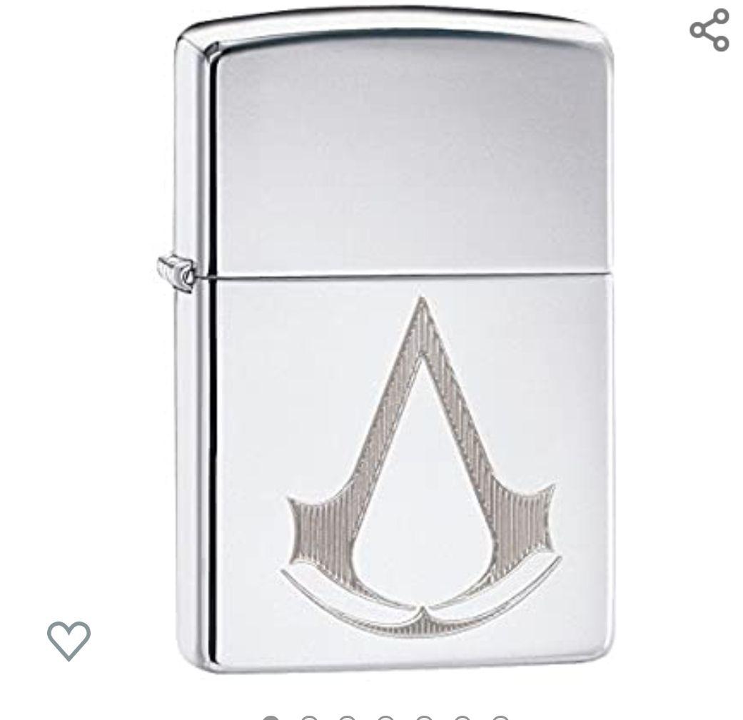 Zippo Assassin'S Creed encendedor + Caja de regalo
