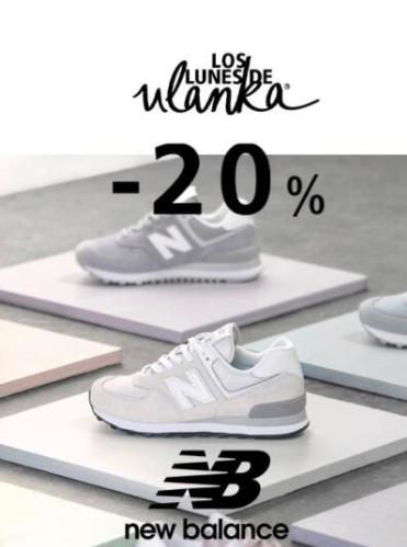 20% en New Balance Ulanka